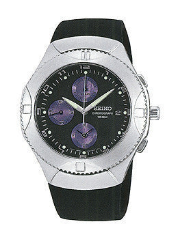 Seiko Mens Alarm Chronograph watch #SND401