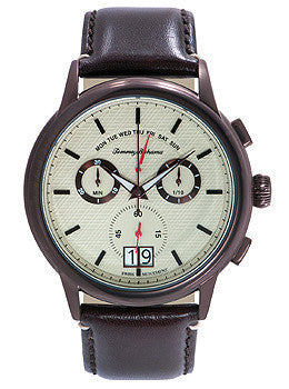 Tommy Bahama Portland Chronograph Leather - Brown Mens watch #TB1272
