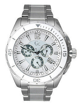 Guess Collection Sport Class Xxl White Dial Mens Watch #X76007G1S