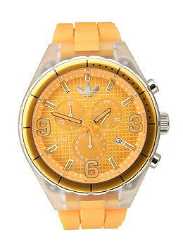 Adidas Silicone Cambridge Yellow Dial Unisex watch #ADH2530