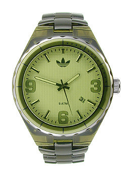 Adidas Nylon Cambridge Green Dial Unisex watch #ADH2558