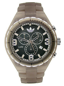 Adidas Nylon Cambridge Chronograph Black Dial Mens watch #ADH2565