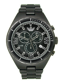 Adidas Aluminum Cambridge Chronograph Black Dial Unisex watch #ADH2576