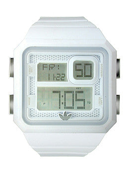 Adidas Originals Curitiba - White Digital Mens watch #ADH2771
