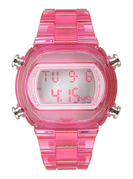 Adidas Nylon Candy Digital Grey Dial Unisex watch #ADH6504