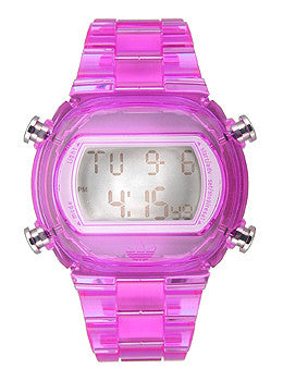 Adidas Nylon Candy Digital Grey Dial Unisex watch #ADH6506