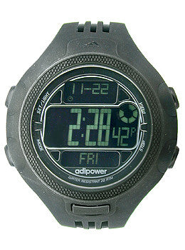 Adidas AdiPower 100-Lap Chrono Digital Mens watch #ADP3121