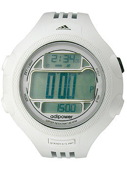 Adidas AdiPower 100-Lap Chrono Digital Mens watch #ADP3128