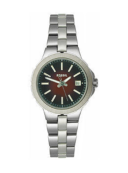 Fossil Sylvia Stainless Steel - Silver Womens watch #AM4406