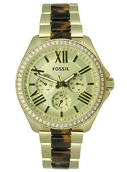 Fossil Cecile Multifunction Stainless Steel - Two-Tone Womens watch #AM4499
