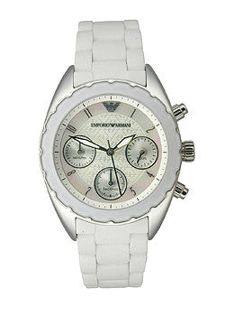 Armani Sportivo Chrono Mother-of-pearl Dial Womens watch #AR5941