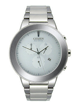 Citizen Eco-Drive Axiom Chronograph Mens watch #AT2240-51A