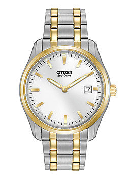 Citizen Eco-Drive Two-Hand Stainless Steel - Two-Tone Mens watch #AU1044-58A