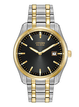 Citizen Eco-Drive Two-Hand Stainless Steel - Two-Tone Mens watch #AU1044-58E