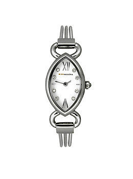BCBG Max Azria BCBG Two-Hand Silver-Tone Womens watch #BCBG8036