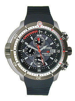 Citizen Promaster Depth Meter Chronograph Mens watch #BJ2128-05E
