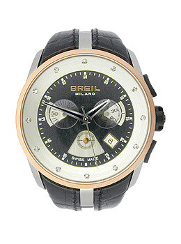 Breil Milano Womens Chronograph Leather Strap watch #BW0430