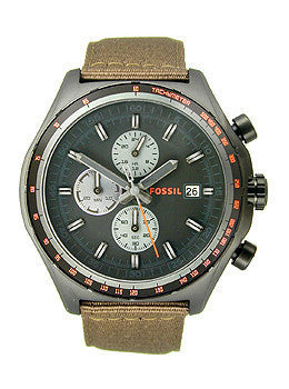 Fossil Dylan Chronograph - Nylon Mens watch #CH2781
