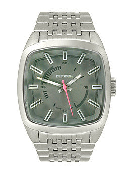 Diesel Analog Scalped Stainless Steel Mens watch #DZ1587