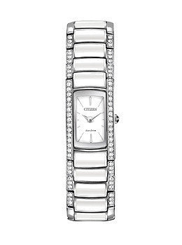 Citizen Eco-Drive Normandie Two-Hand Stainless Steel Womens watch #EG2950-51A