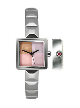 Elle Dress Collection Steel Bracelet Multicolor Dial Womens watch #EL20140B01N