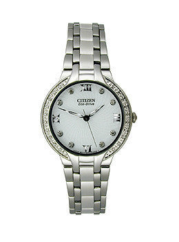 Citizen Eco-Drive Bella 3-Hand with Diamonds Womens watch #EM0120-58A