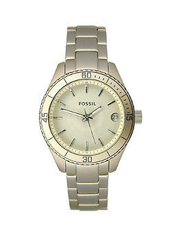 Fossil Stella Mini Aluminum - Champagne Womens watch #ES2902