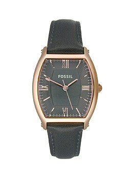 Fossil Wallace Ash Grey Leather Womens watch #ES3056