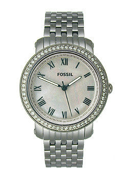 Fossil Emma Three-Hand Stainless Steel - Smoke Womens watch #ES3114