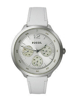Fossil Editor Glitz White Multifunction Womens watch #ES3242