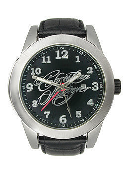 Christian Audigier Eternity Collection Black Magic Black Dial Mens watch #FOR-209