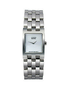 Citizen Eco-Drive Jolie Two Hand Stainless Steel Womens watch #EX1300-51A