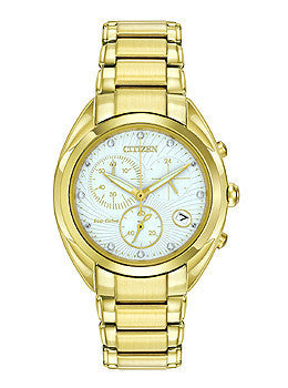 Citizen Eco-Drive Celestial Chronograph Stainless Steel Womens watch #FB1392-58A