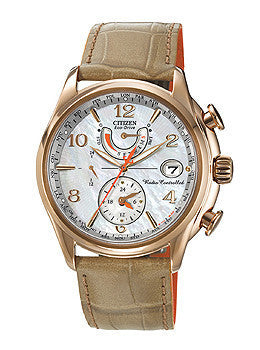 Citizen Eco-Drive World Time A-T Womens watch #FC0003-18D