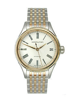 Hamilton American Classic Valiant Auto Two-Tone Stainless Steel Womens watch #H39425114