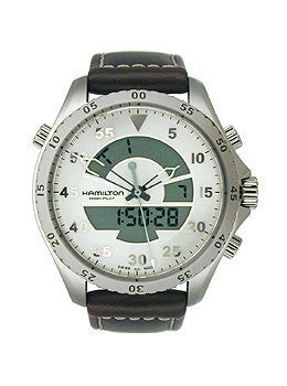 Hamilton Khaki Pilot Flight Timer Quartz Mens watch #H64514551