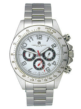 Charles Hubert Mens Chronograph watch #3790-W