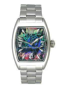 Christian Audigier Intensity Series Sky Garden Multi-Colored Dial Womens Watch #INT308