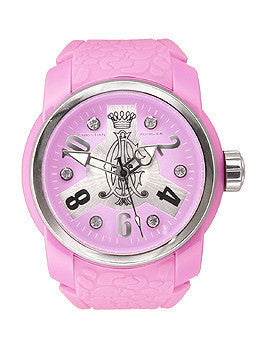 Christian Audigier Intensity Collection Vortex Lavender Dial Womens watch #INT321