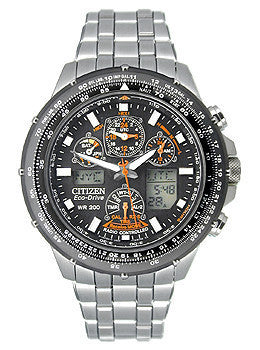 Citizen Mens Eco-Drive Skyhawk Atomic watch #JY0000-53E