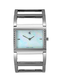 Calvin Kleins Ladies Diamond Collection watch #K0428381