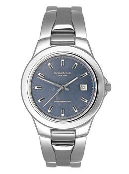 Kenneth Cole Mens Three-hand Date Blue Dial watch #KC3186