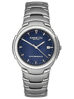 Kenneth Cole Mens Sport Bracelet Blue Dial watch #KC3224