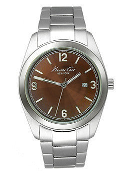 Kenneth Cole New York Bracelet Brown Dial Mens watch #KC9056