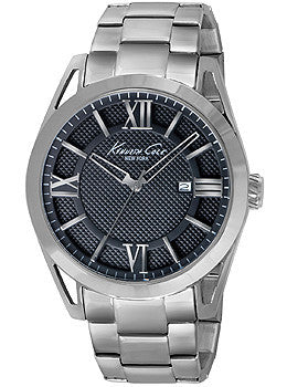 Kenneth Cole New York Three-Hand Stainless Steel Mens watch #KC9372