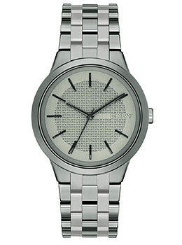 DKNY Three-Hand Gunmetal Stainless Steel Womens watch #NY2384
