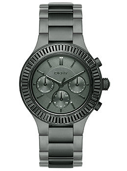 DKNY Multifunction Black Stainless Steel Womens watch #NY2397