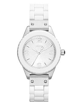 DKNY 3-Hand Analog Silicone Womens watch #NY8574