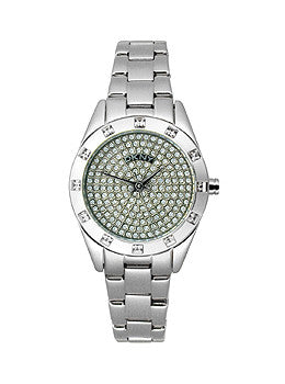 DKNY Three-Hand Stainless Steel Womens watch #NY8887