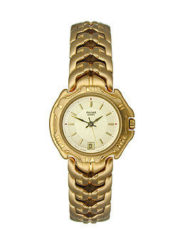 Pulsar by Seiko Three-Hand Gold-Tone Womens watch #PXT170